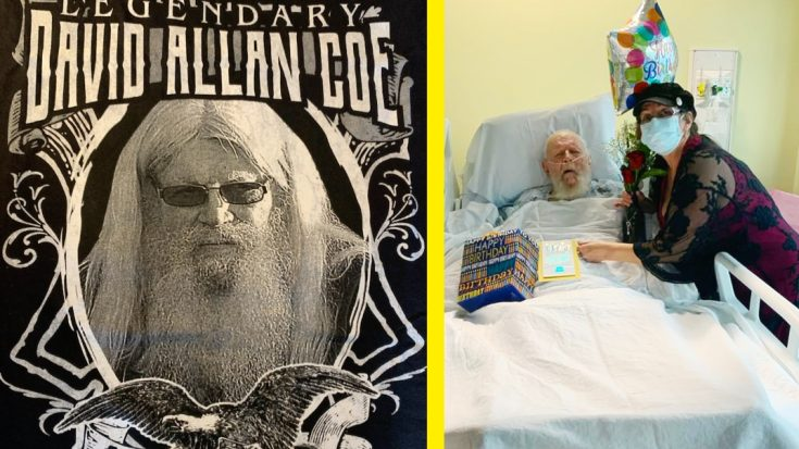 82-Year-Old David Allan Coe Beats COVID-19 After Hospitalization | Classic Country Music Videos