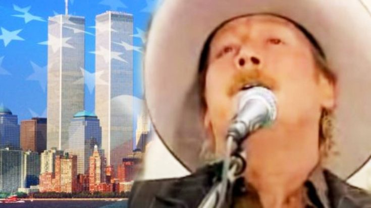 """Teary-Eyed Alan Jackson Mourns 9/11 Victims In 2006 Live Version Of """"Where Were You"""" 