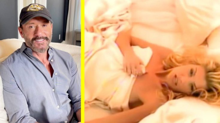 Tim McGraw Wishes Faith Hill A Happy Birthday With Steamy Video | Classic Country Music Videos