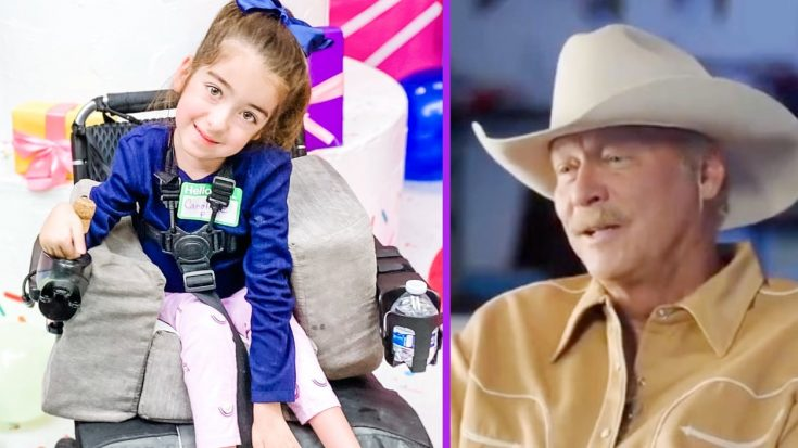 Girl Who Has Same Nerve Condition As Alan Jackson Wants To Meet Him | Classic Country Music Videos