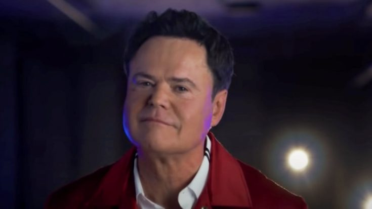 """Donny Osmond Gets Real About Anxiety & His Career: """"It Was Pretty Rough At Times""""   Classic Country Music Videos"""