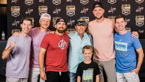 George Strait Treats 9-Year-Old Grandson To A Night Out